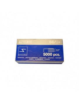 Agrafes textile type 66 boite de 5000