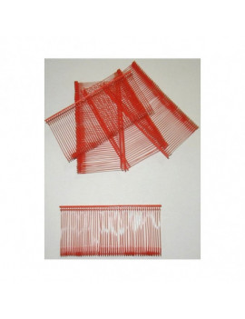 Attaches plastique standards rouges