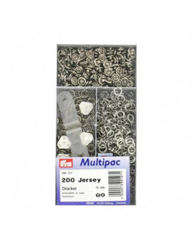 BOUTONS PRESSIONS JERSEY NICKEL 10MM MULTIPAC 200PCS