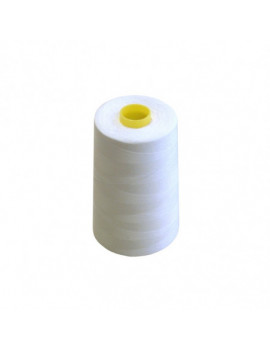 FIL COTON 5000 YARDS BLANC