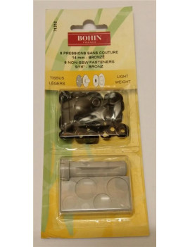BOUTON GRIFFE 12 MM BRUNI...