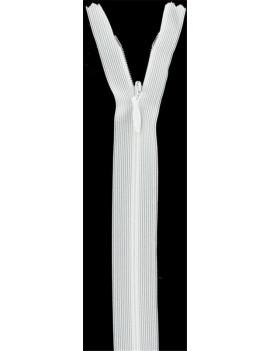 FERMETURE INVISIBLE Z41 IVOIRE LONGUEUR 60 CM