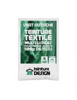 """TEINTURE TEXTILE """"VERT PISTACHE"""" 1 SACHET DE 10 GR POUR 500 GR DE TISSU"""