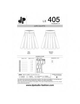 PATRON DP STUDIO JUPE CULOTTE - LE 405